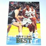 1993 NBA Hoops David's Best DB2 David Robinson San Antonio Spurs Basketball Card